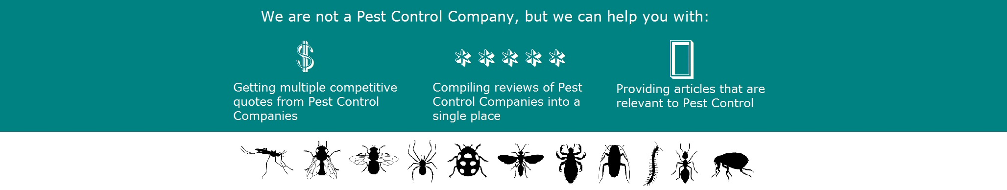 Pest Control Quotations, Singapore